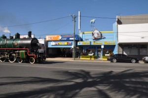 Qld Rail history celebrating 150 years Steam train